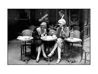 PGM Roger Violet - Café et Cigarette Kunstdruk 80x60cm
