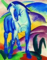 PGM Franz Marc - Blaues Pferd I Kunstdruk 70x90cm