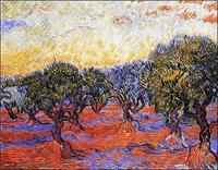 PGM Vincent Van Gogh - Uliveto Kunstdruk 30x24cm