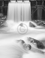 Tom Weber - Waterfalls I Kunstdruk 70x90cm