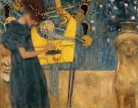 PGM Gustav Klimt - Die Musik Kunstdruk 90x70cm