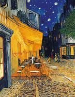 PGM Vincent Van Gogh - Café-Terrasse am Abend Kunstdruk 70x90cm