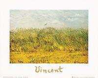 PGM Vincent Van Gogh - The wheat field Kunstdruk 30x24cm