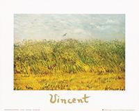 PGM Vincent Van Gogh - The wheat field Kunstdruk 30x24cm