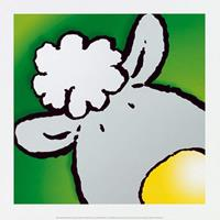 PGM Jean Paul Courtsey - Sheep Kunstdruk 30x30cm