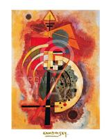 PGM Wassily Kandinsky - Hommage a Grohmann Kunstdruk 40x50cm