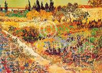 PGM Vincent Van Gogh - Giardino in fioritura Kunstdruk 30x24cm