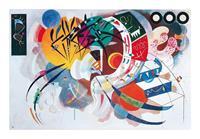 PGM Wassily Kandinsky - Courbe dominante, 1936 Kunstdruk 50x40cm