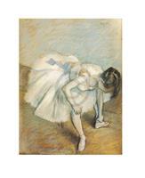 PGM Edgar Degas - Danseuse nouant son brodequin Kunstdruk 24x30cm