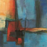 PGM Bea Danckaert - Abstract Night Kunstdruk 30x30cm
