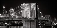 PGM Jet Love - Brooklyn Bridge at Night, 1982 Kunstdruk 91x45cm