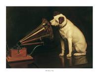 PGM Francis Barraud - His Master's Voice Kunstdruk 80x60cm