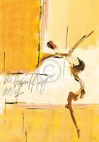 PGM Michael Schönpflug - Sommerspiele 3 Kunstdruk 70x100cm