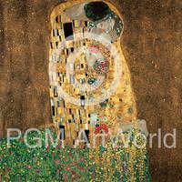 PGM Gustav Klimt - Der Kuß Kunstdruk 98x98cm