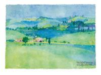 PGM Ralf Westphal - Abbazia di Monte Oliveto, Toskana Kunstdruk 80x60cm