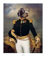 PGM Thierry Poncelet - Ceremonial Dress Kunstdruk 66x86cm