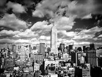 PGM Henri Silberman - Sky over Manhattan Kunstdruk 80x60cm