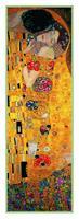 PGM Gustav Klimt - The Kiss Kunstdruk 50x138cm