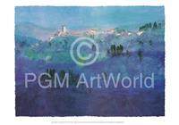PGM Ralf Westphal - Landschaft bei Pistoia Kunstdruk 100x70cm