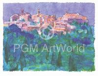 PGM Ralf Westphal - Montepulciano / Toskana Kunstdruk 90x70cm