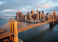 Papermoon Brooklyn Bridge Skyline Vlies Fotobehang 350x260cm