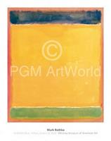 PGM Mark Rothko - Untitled Blue, Yellow, Green, Red Kunstdruk 71x91cm