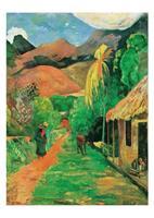 PGM Paul Gauguin - Chemin a papeete Kunstdruk 50x70cm