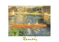 PGM Auguste Renoir - La Senna ad asnieres Kunstdruk 70x50cm