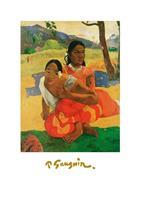 PGM Paul Gauguin - Deux Tahitiennes Kunstdruk 50x70cm