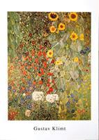 PGM Gustav Klimt - Giardino di campagna Kunstdruk 50x70cm