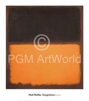 PGM Mark Rothko - Untitled 18, 1963 Kunstdruk 76x86cm