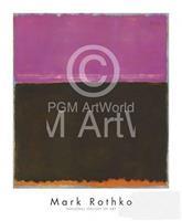 PGM Mark Rothko - Untitled, 1953 Kunstdruk 71x86cm