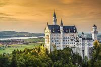 Papermoon Schloss Neuschwanstein Vlies Fotobehang 350x260cm