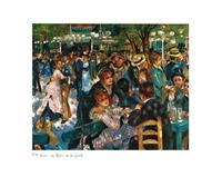 PGM Auguste Renoir - Le Moulin de la Galette Kunstdruk 70x50cm