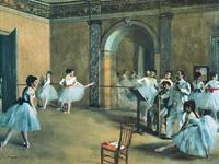PGM Edgar Degas - The Dance Foyer at the Opera Kunstdruk 80x60cm