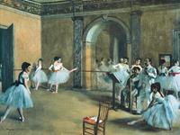 PGM Edgar Degas - The Dance Foyer at the Opera Kunstdruk 80x60cm
