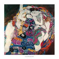 PGM Gustav Klimt - La vergine Kunstdruk 70x70cm
