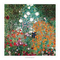 PGM Gustav Klimt - Giardino fiorito Kunstdruk 70x70cm