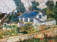PGM Vincent Van Gogh - Case ad Auvers Kunstdruk 80x60cm