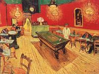 PGM Vincent Van Gogh - Caffe di notte Kunstdruk 80x60cm
