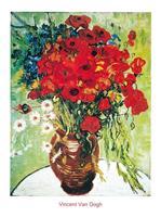 PGM Vincent Van Gogh - Vase avec marguerite Kunstdruk 60x80cm