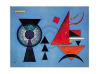 PGM Wassily Kandinsky - Weiches Hart Kunstdruk 80x60cm
