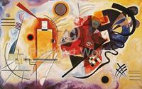 PGM Wassily Kandinsky - Jaune, Rouge, Bleu Kunstdruk 80x60cm