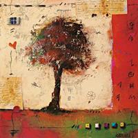 PGM Sonja Kobrehel - Tree II Kunstdruk 70x70cm