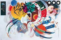 PGM Wassily Kandinsky - Dominant curve Kunstdruk 100x70cm