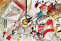 PGM Wassily Kandinsky - Sans titre Kunstdruk 100x70cm