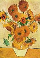 PGM Vincent Van Gogh - Vaso di girasoli Kunstdruk 70x100cm