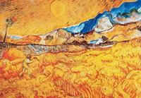 PGM Vincent Van Gogh - La mietitura Kunstdruk 100x70cm