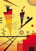 PGM Wassily Kandinsky - Struttura allegra Kunstdruk 70x100cm