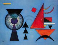 PGM Wassily Kandinsky - Weiches Hart Kunstdruk 100x70cm